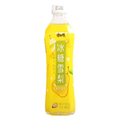 Master Kong Crystal Sugar Pear Juice 500ml