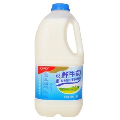 三元脱脂鲜奶 1.8L