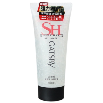Gatsby Super Hard Styling Gel 200g