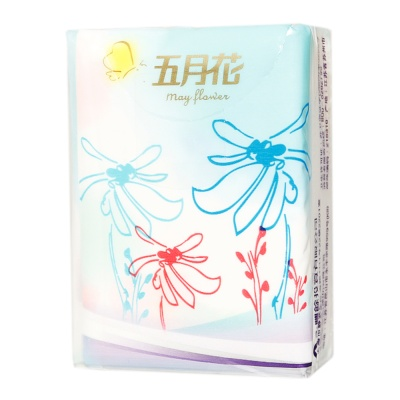 May Flower Kleenex Paper Handkerchief 9ct