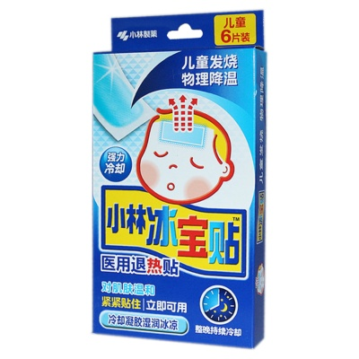 Xiaolin Children Cooling Gel Sheet(6Ps)