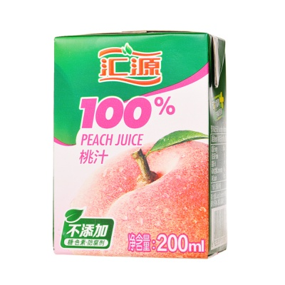 Hui Yuan Peach Juice 200ml