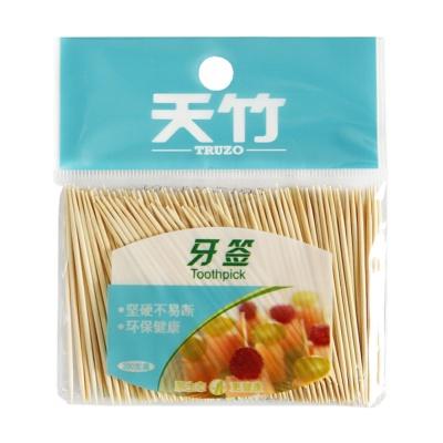 Truzo Toothpick (Bamboo) 200pcs