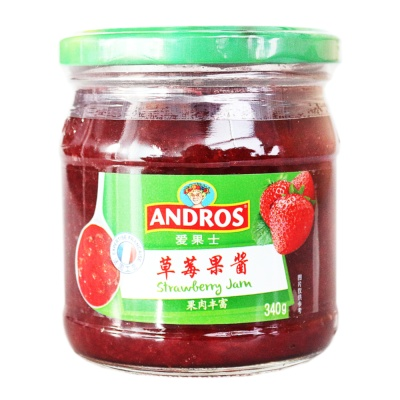 Andros Strawberry Jam 340g