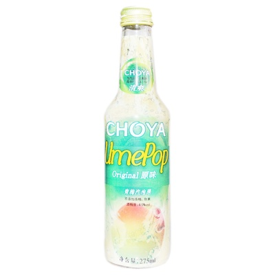 Choya Umepop Original Green Plum Sparkling Wine 275ml