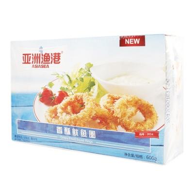 Asiasea Crisp Fried Squid Rings 600g