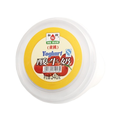 He Run Yellow Peach Yogurt 340g