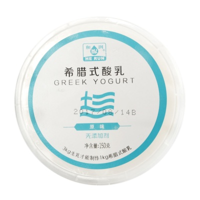 He Run Greek Yogurt(Original) 150g
