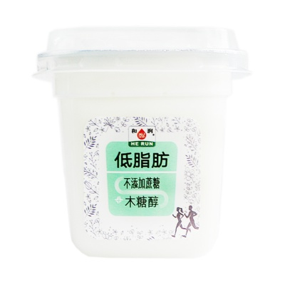 He Run Low Fat No Sugar Yoghurt 200g