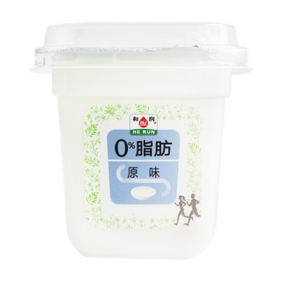 He Run 0% Fat Original Yoghurt 200g