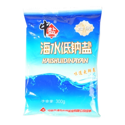 China Salt Low Sodium Salt 300g