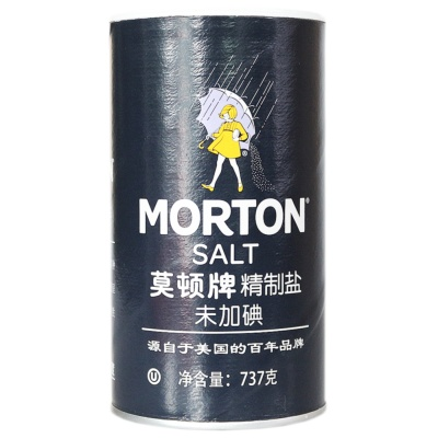 Morton No Iodine Salt 737g