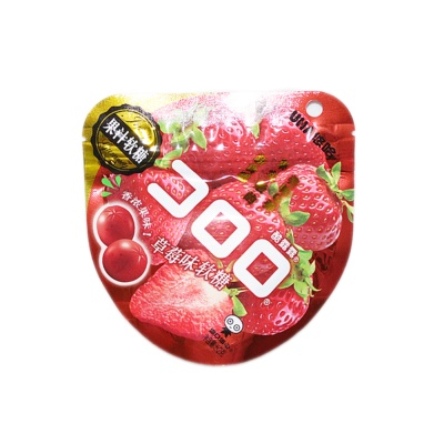 Uha Strawberry Flavoured Gummy 52g