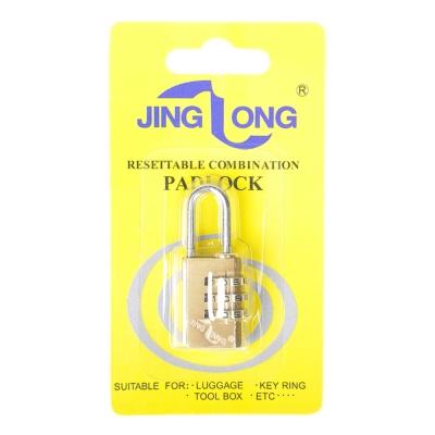 Jing Long Resetable Combination Padlock