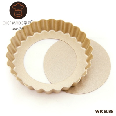 Mini Round Tart Pan with Loose Base 4