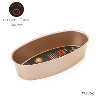 Chef Made Oval Cheese Cake Pan 22.2*11*5.5cm