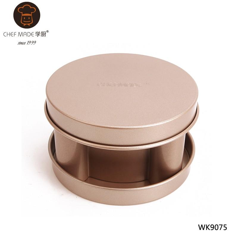 3pcs Bear Shape Loaf Pan Set 686g