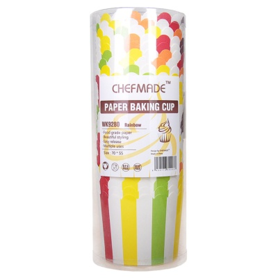 Paper Baking Cup(Rainbow) 25pcs