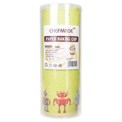 Paper Baking Cup(Robot) 25pcs