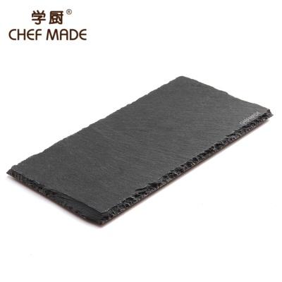 长方形板岩餐盘 25*12cm