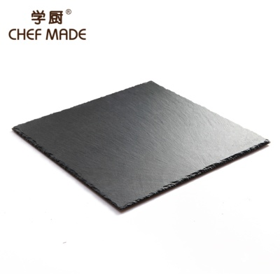Chefmade Square Basalt Plate 25*25cm