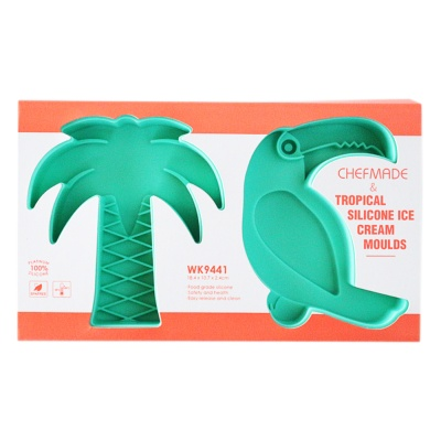Tropical Silicone Ice Cream Moulds