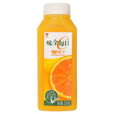 味全每日100%橙汁 300ml