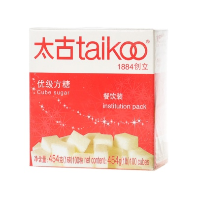 Taikoo Institution Pack Cube Sugar 454g