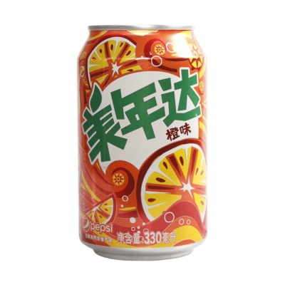 Mirinda Orange Flavor 330ml