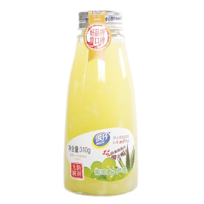 Bozai Grape Stew Aloe Fruit Juice 310g