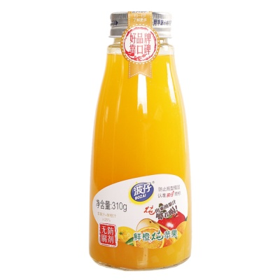 Bozai Fresh Orange Stewed Apple Drink 310g