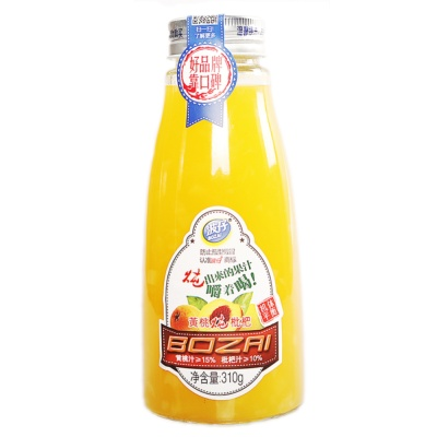 Bozai Peach Stewed Loquat Drink 310g