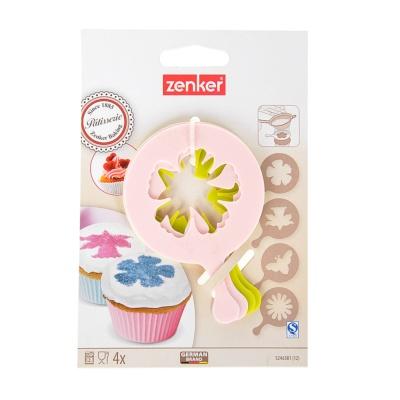 "Zenker Cupcake Stencils""Nature"""