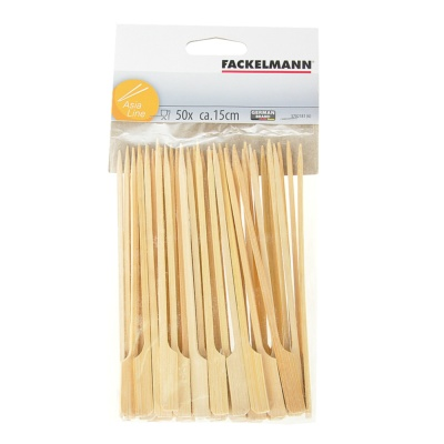 Fackelmann 50 Skewers Wood 20cm