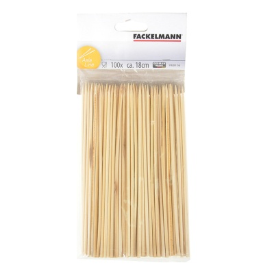 Fackelmann 100 Skewers Wood 18cm