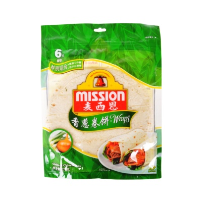 Mission Onion & Chive Wraps 270g