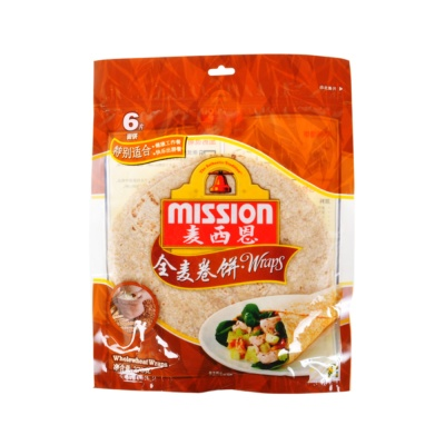 Mission Whole Wheat Wraps 270g