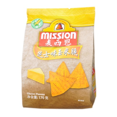 Mission Cheese Corn Chips 170g