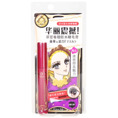 Kissme Volume&Curl Mascara 6g