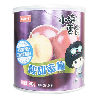 Aiyomi Sweet & Sour Honey Plum 200g