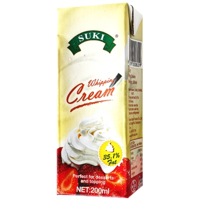 SUKI Whipping Cream 200ml