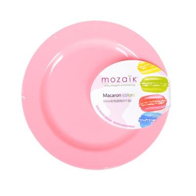 Sabert Mozaik Macaron Colors Round Plate 15cm