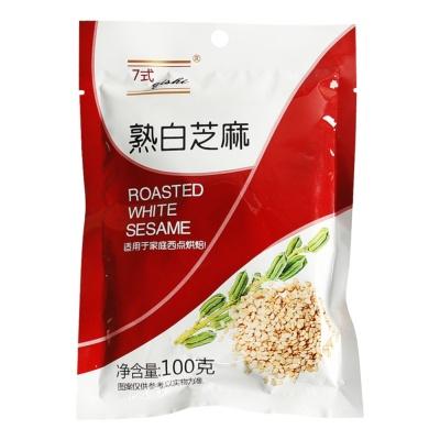 Qishi Roasted White Sesame 100g