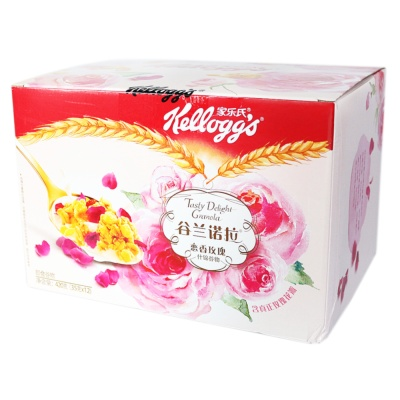 Kellogg's Granola Rose Assorted Cereal Cereal 420g