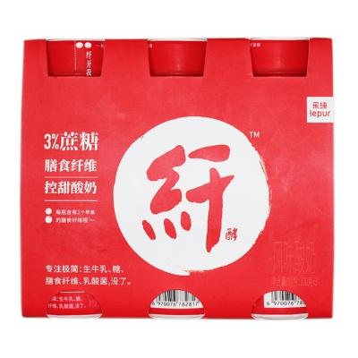 Lepur Low Sugar&Dietary Fiber Yogurt 3*220g