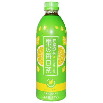 Vibrant Forest Lemon Green Tea 500ml