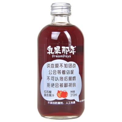 Dream Days Pomegranate Juice Drink 310ml