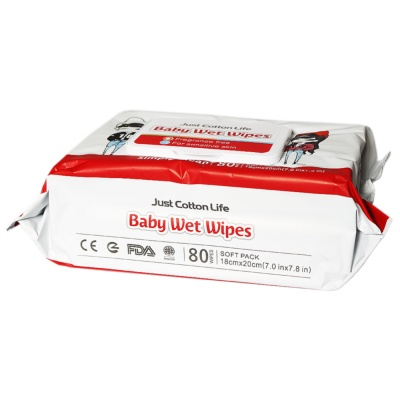 Just Cotton Life Baby Wet Wipes 80pcs