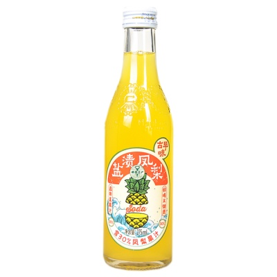 HanKow Er Chang Pineapple Soda Drink 275ml