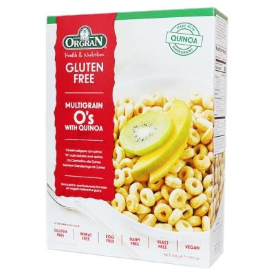 Orgran Multigrain O's With Quinoa 300g